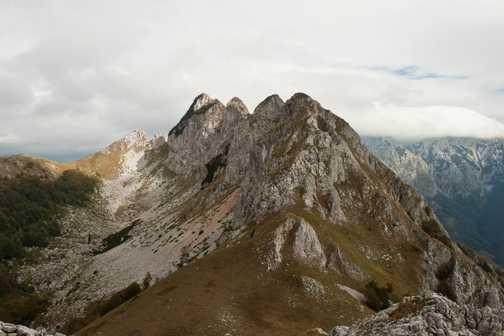 View of Sutjeska NP