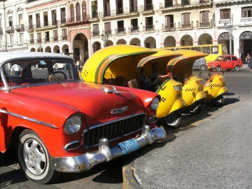 Havana anyone for a taxi