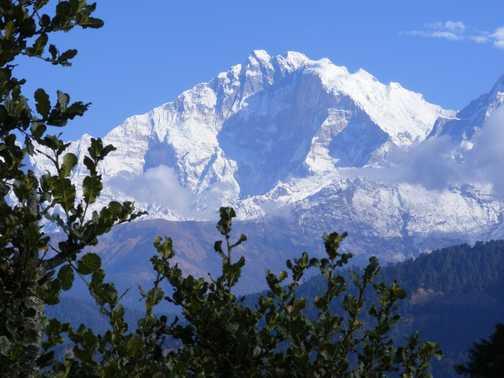 Annapurna and dhaulagiri-first sighting