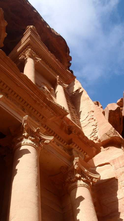 View of the Treasury, Petra