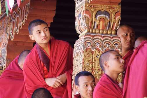 Dancing Monk