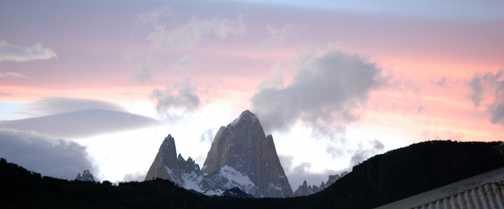 Sunset at El Chalten