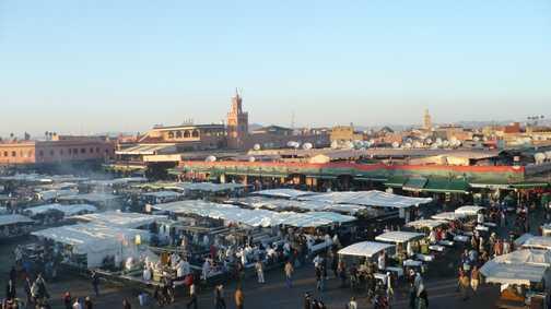 Marrakech - Djemma el Fna