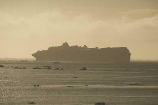 Cruise Liner ? No its a Iceberg - Antarctic Sound
