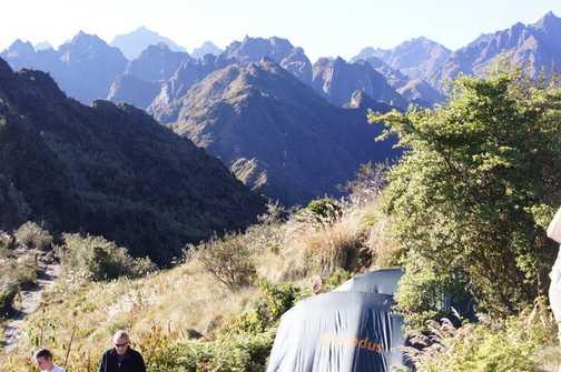Camp at Phuyupatamarca