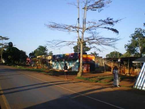 Shops on Entebbe Road