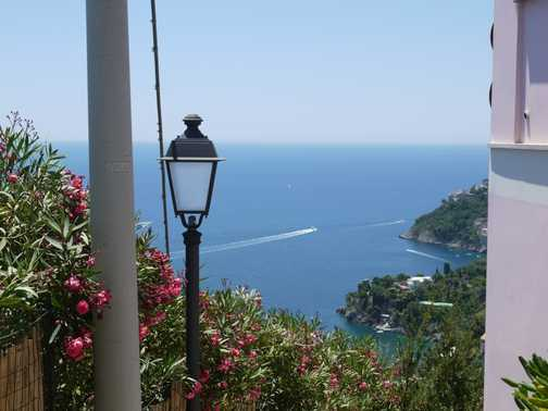 View of Sophia Loren's villa