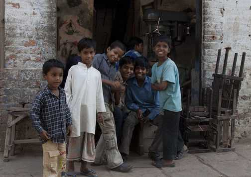 Day 3. Kids in Varanasi