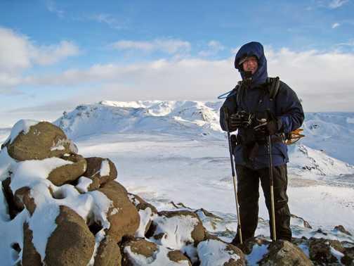 Mt Hekla - Summit