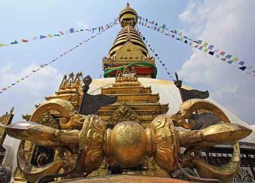 Swayambhunath 'The Monkey Temple' Kathmandu