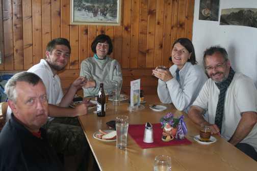 B group Blaser hutte