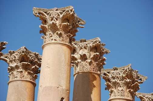 Corinthian Columns Jerash
