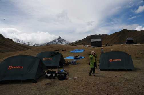 Moonstone camping Ollantaytambo