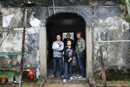 Tsang House in Hong Kong - My Boys