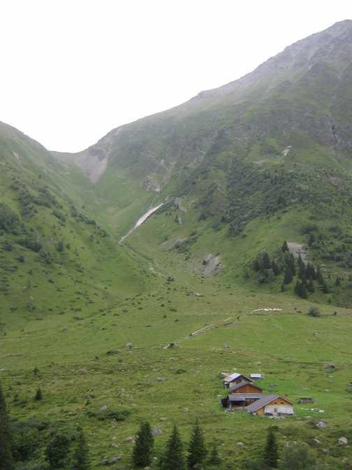 Bottom of the Col de Tricot