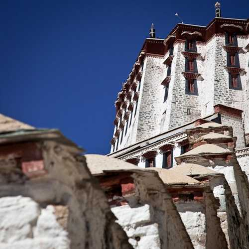 The symbol of Tibet, Potala Palace, Lhasa