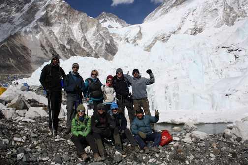 Group at Basecamp