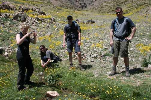 Lunch spot after Oukaimeden climb