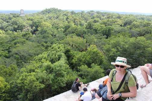Vertigo over Tikal