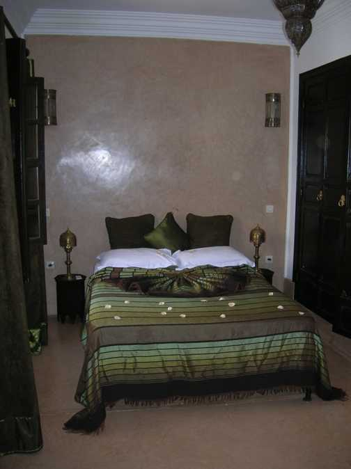 My Riad room on arrival.