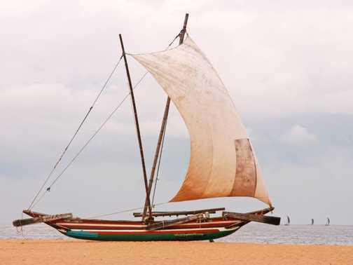 Sri lankan Boat, Negombo