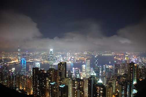 Hong Konyg by night