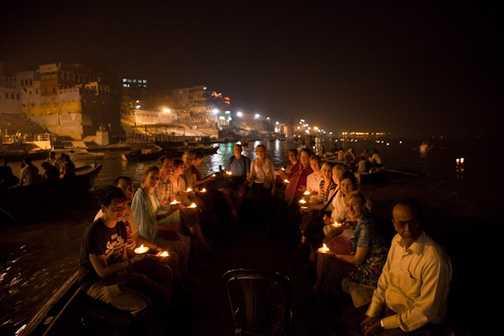 The streets of Varanasi