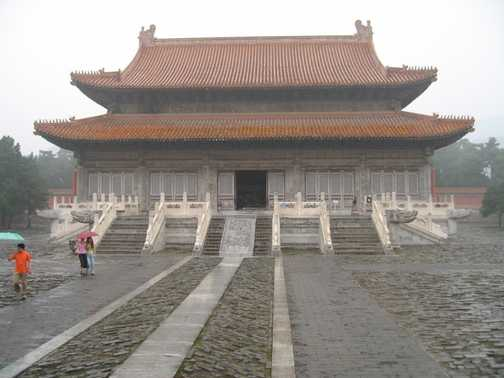 Qing tombs