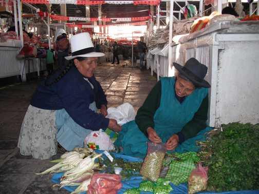 San Pedros Market, Cuzco