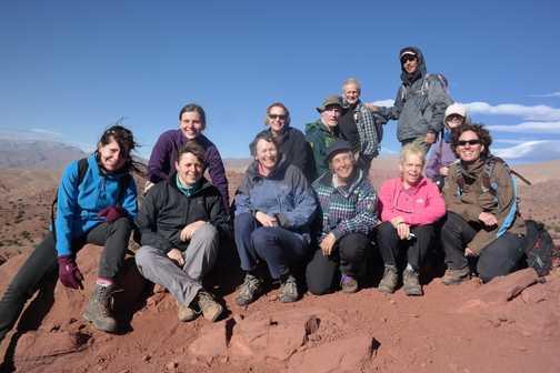 group at top