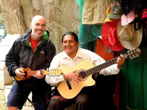 And the band played El Condor Pasa.