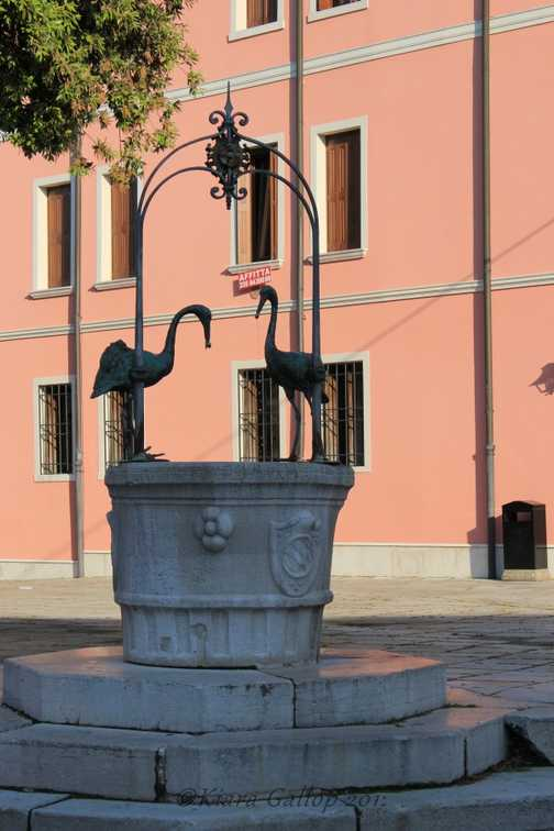 Water feature, Portogruaro