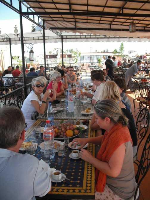 Lunch in Marrakech