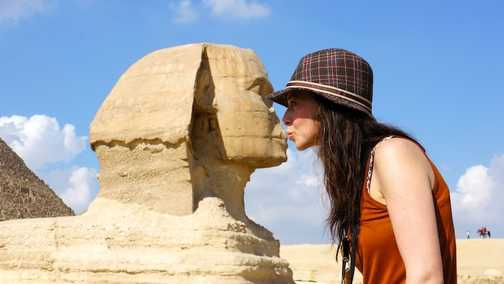 Mrs T & the Sphinx