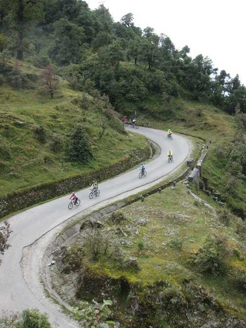 30km of downhill