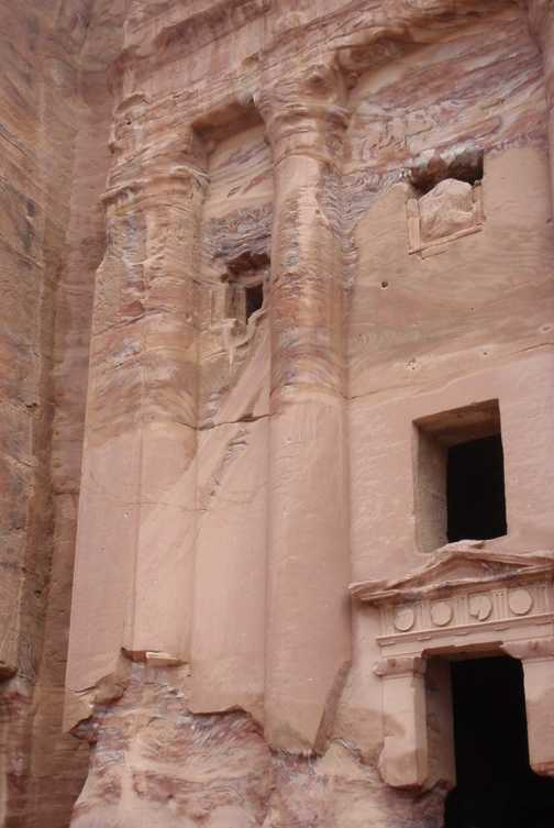 Tomb and church in Petra