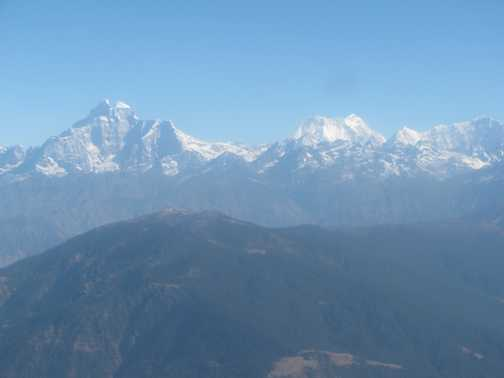 View on the flight to Lukla