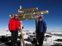 craig and kim uhuru peak