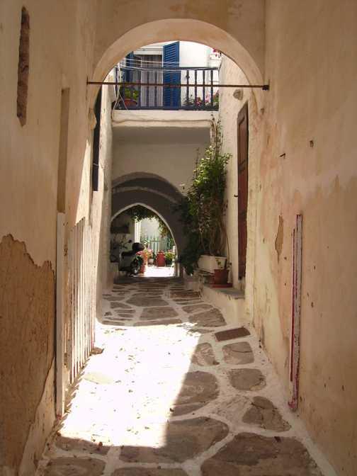 Leaving Paros