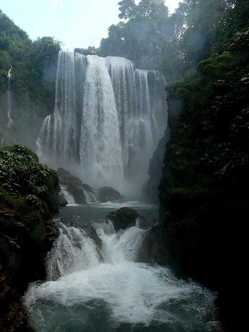 Pulhapanzak falls
