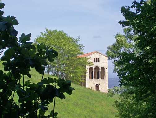 Oviedo - Santa María del Naranco Hall