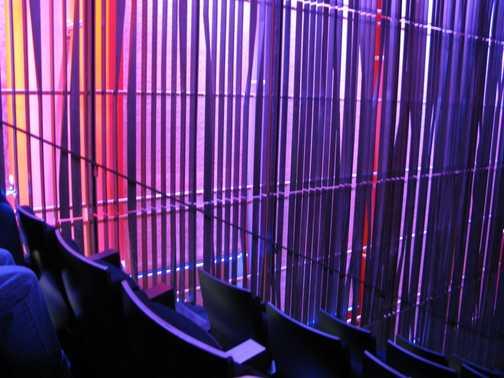 Lighting effects, city cente Reykyavik
