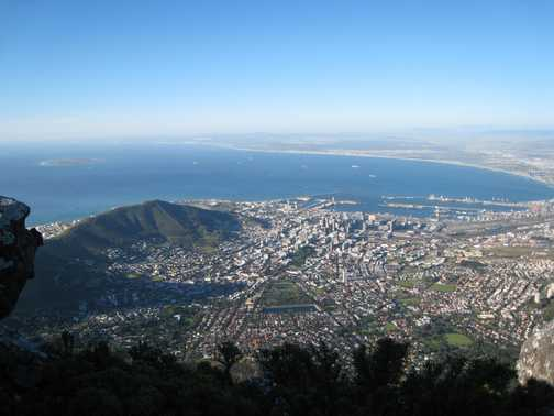 Vew from Table Mountain
