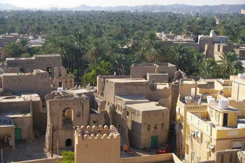 Old town from Nizwa fort