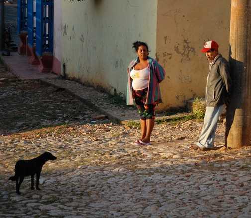 Street scene Trinidad