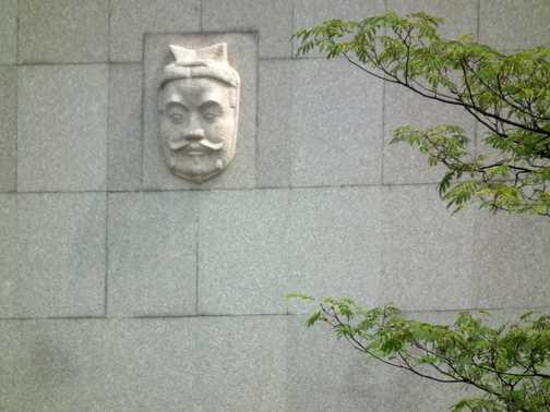 Xian warrior pit 3 exterior