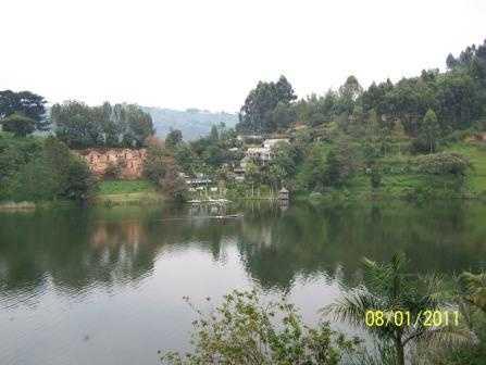 Across Lake Bunyonyi