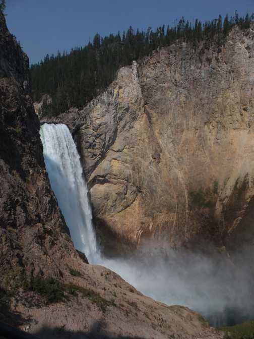 Lower Falls, Yellowstone National Park.