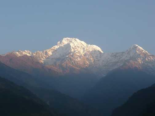 View of Annapurna
