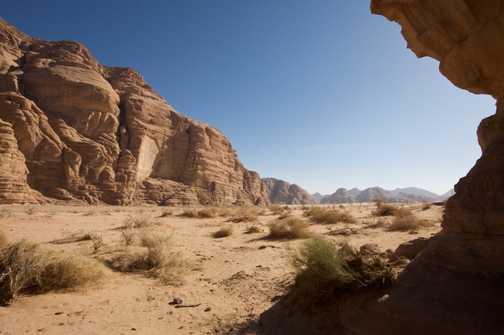 Um Fruth Rock Bridge, Wadi Rum